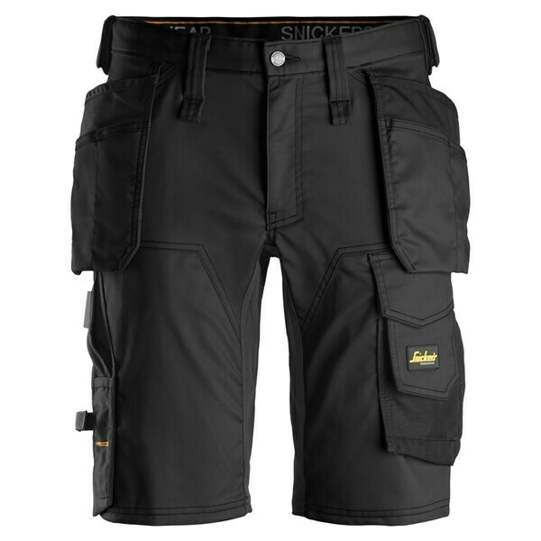 ALLROUNDWORK, STRETCH SHORTS HOLSTER POCKET (FREE BELT)