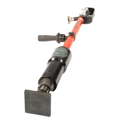 LOW VIBRATION POLE TAMPER