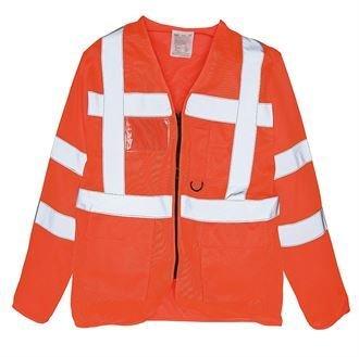 Hi Vis Executive Long Sleeve Waistcoat