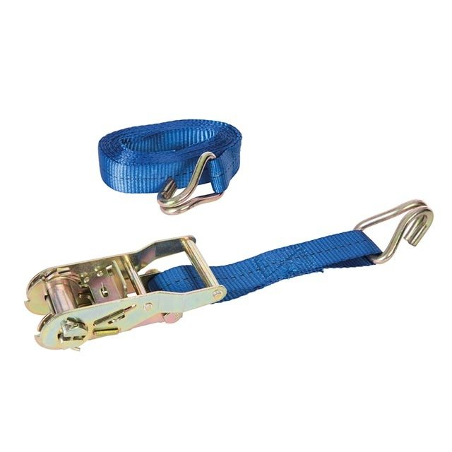 RATCHET TIE DOWN STRAP J-HOOK