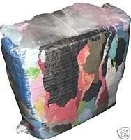 10KG MIXED COLOURED RAGS