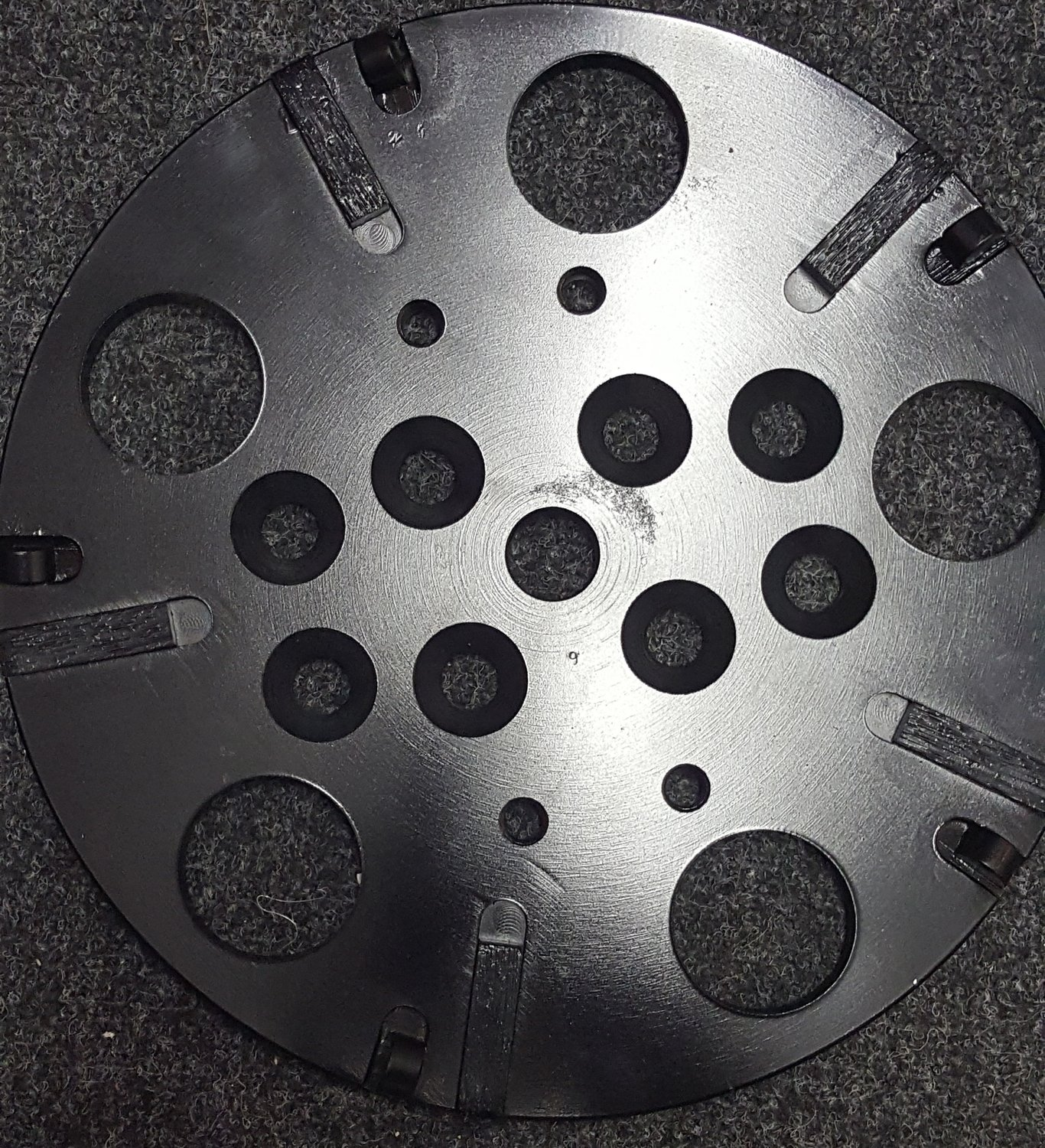 DIAMOND GRINDING PLATE 250MM PCD