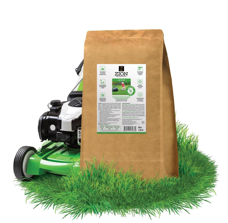 ЦИОН для газонов Крафтовый мешок 3,8 кг
