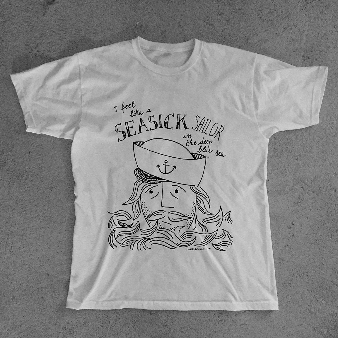 T-Shirt SEASICK SAILOR