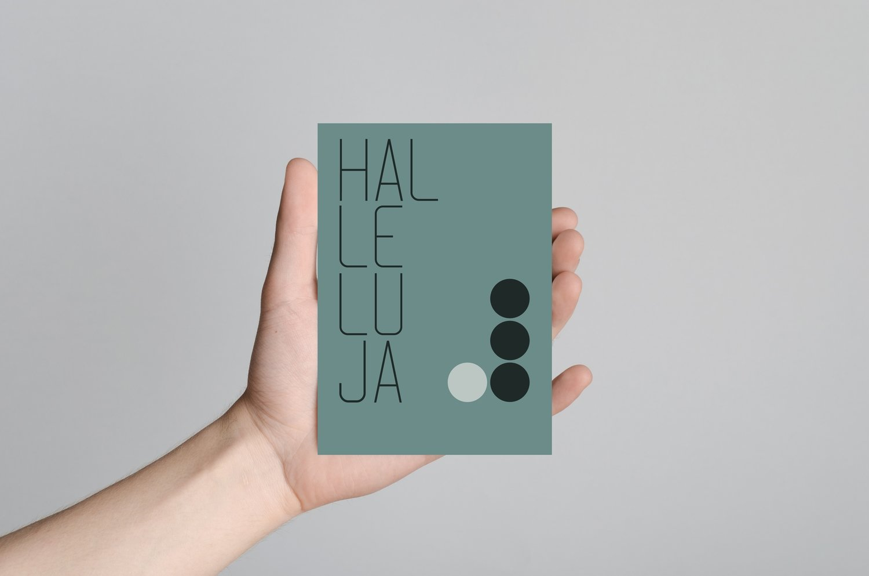 HALLELUJA(grøn)