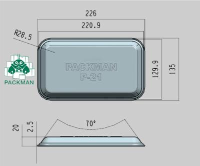 Лоток-Подложка P21