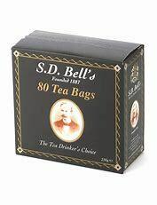 z Tea Bags x 80 SD.Bell