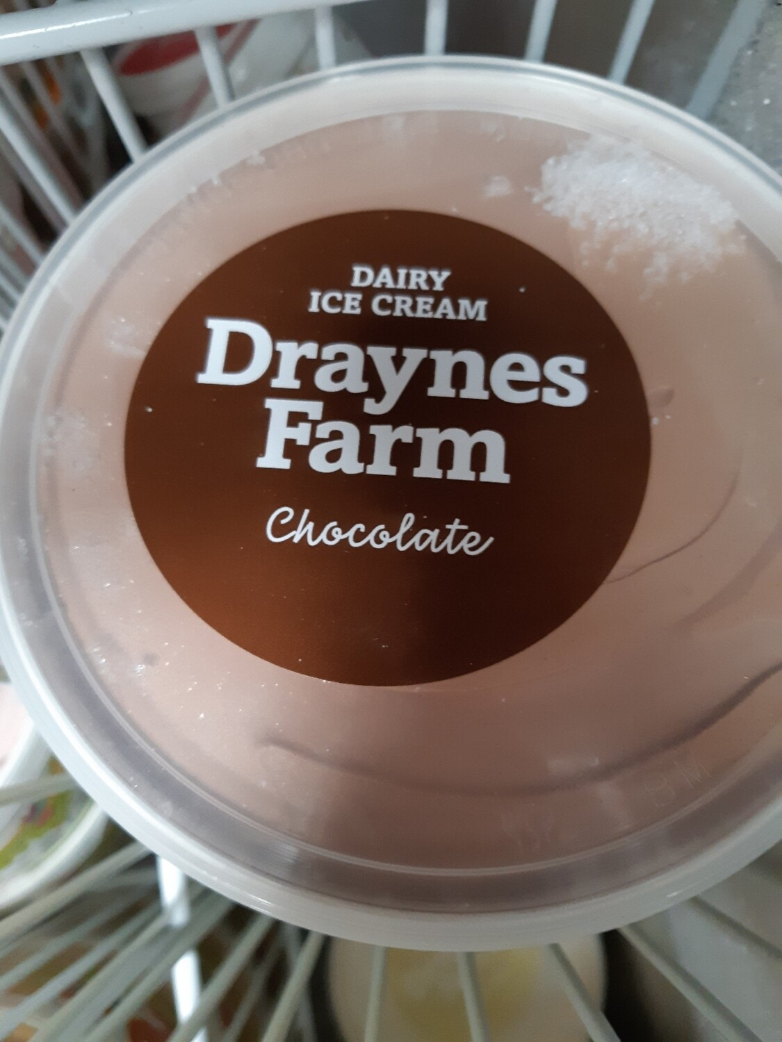 Z Draynes Ice cream  chocolate Large 1lt Tub