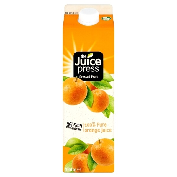 z Juice Press 100% Orange Juice (Not from concentrate)