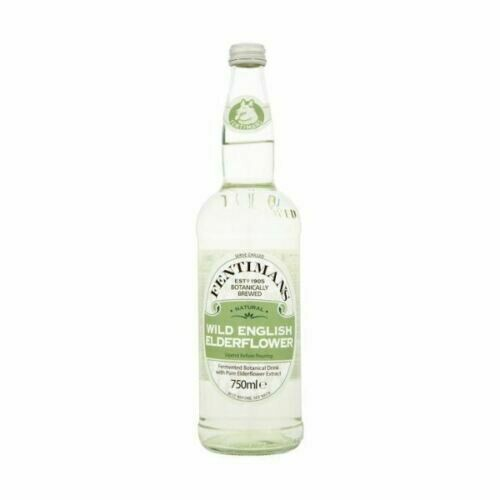 z Fentimans Wild English Elderflower Drink (Gently Sparkling) 750ml