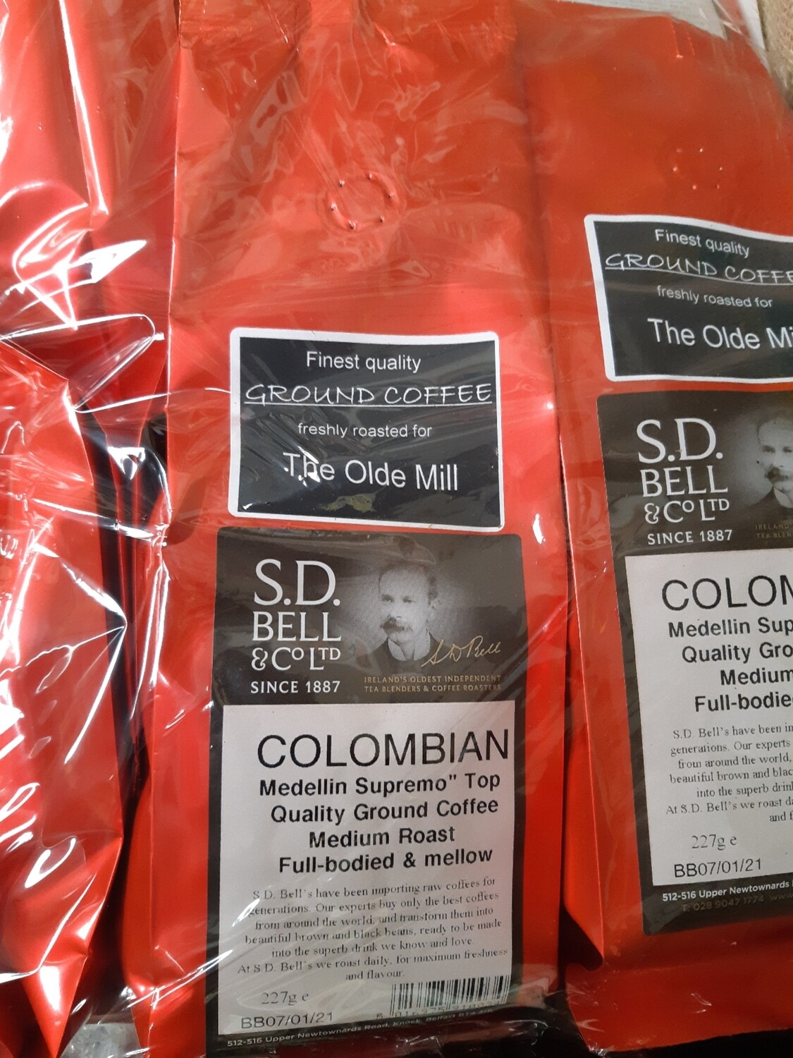 Z colombian ground coffee (SD Bell Premium)