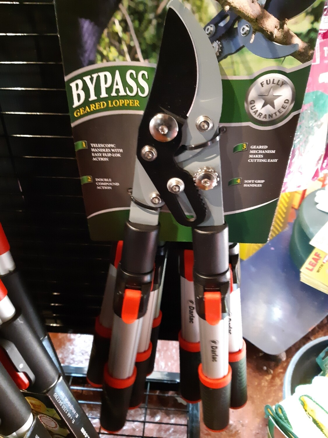 Zzz Darlac bypass geared loppers