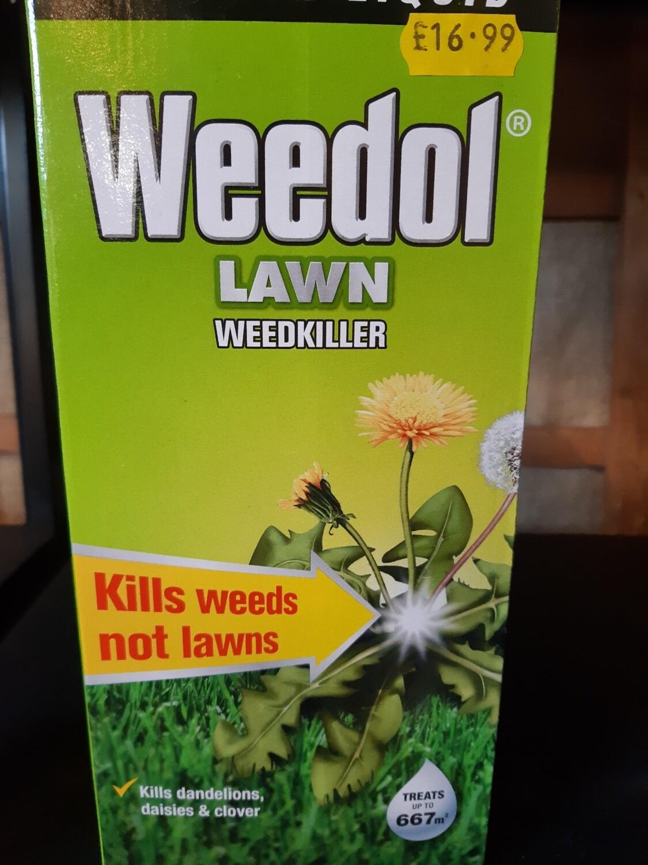 Zzz Weedol LAWN Weedkiller 667m2
