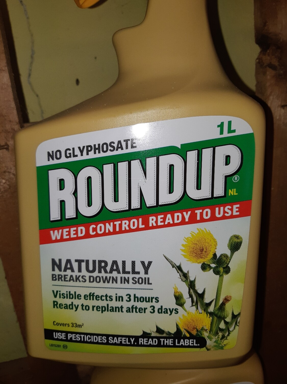 Zzz Roundup Natural Weedkiller