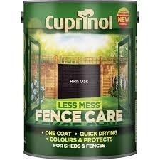 zzzz Cuprinol Fence Care 6lt Rich Oak
