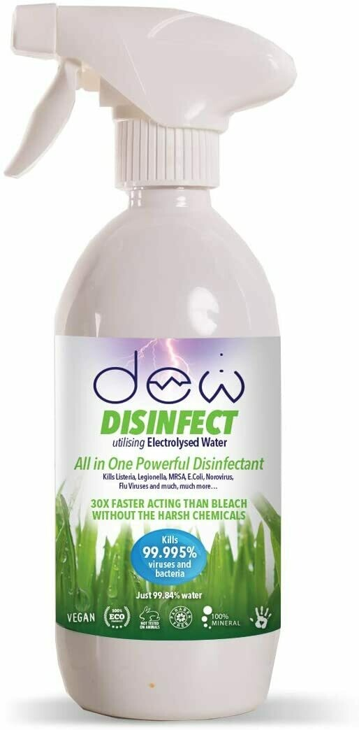 zzzz Dew Disinfect 500ml (zero chemicals)