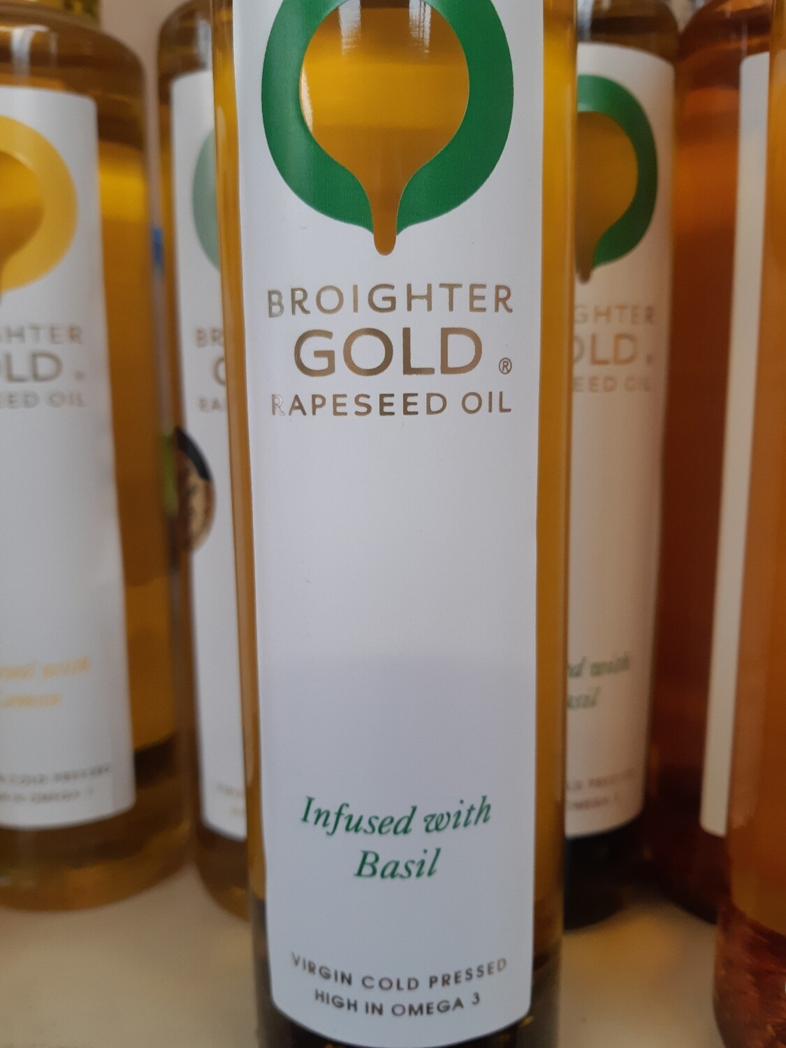 X Local Rapeseed Oil Infused with Basil