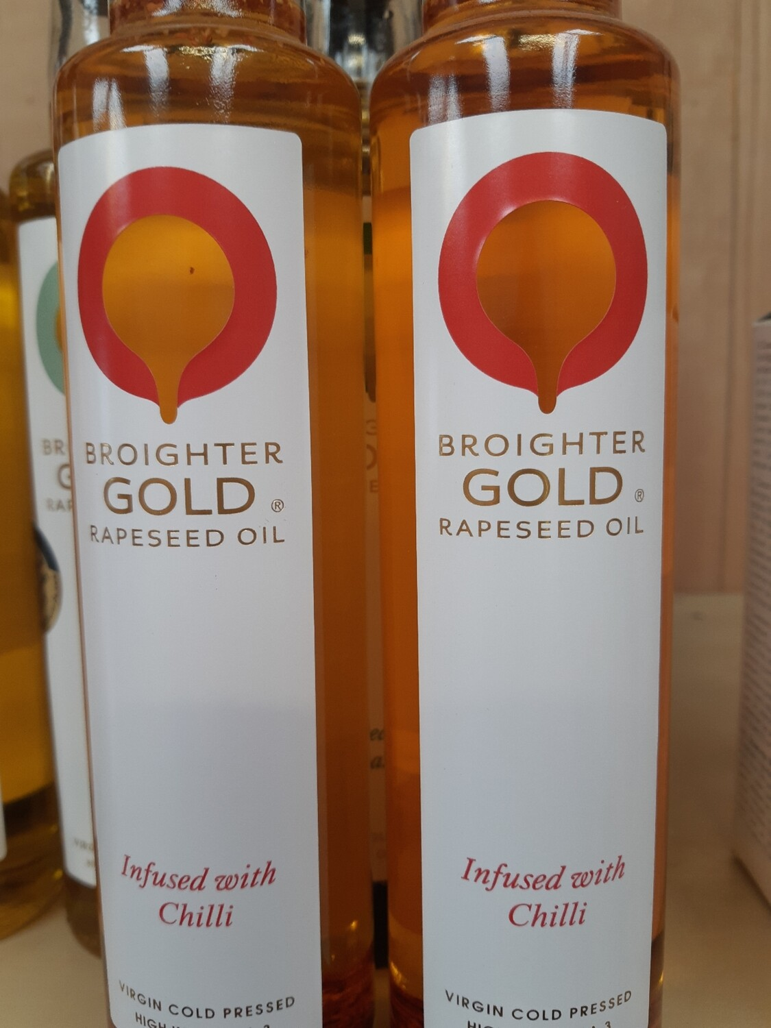 Z Local Rapeseed Oil Infused with Chilli