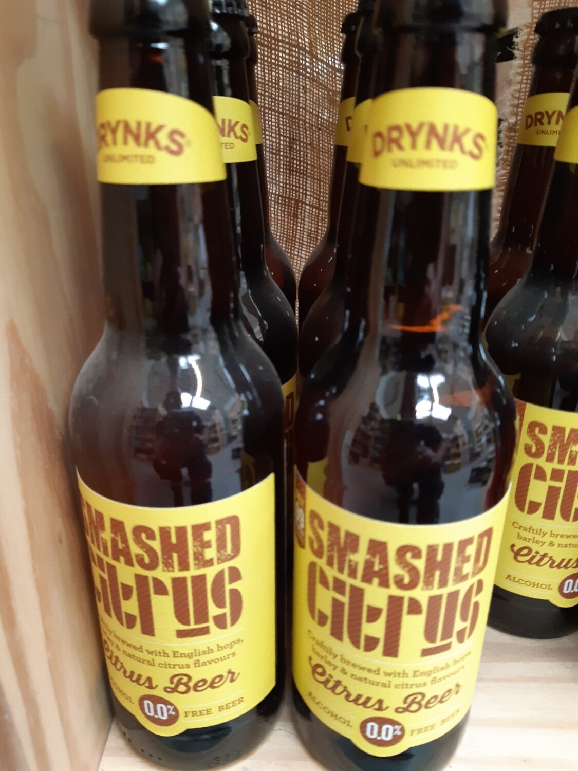 Zz Smashed Citrus Beer (alcohol free)