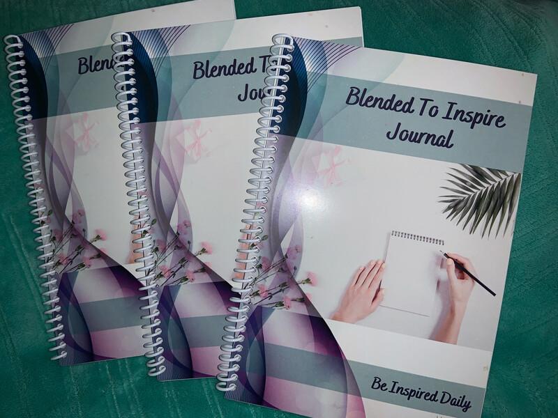 Blended To Inspire Journal