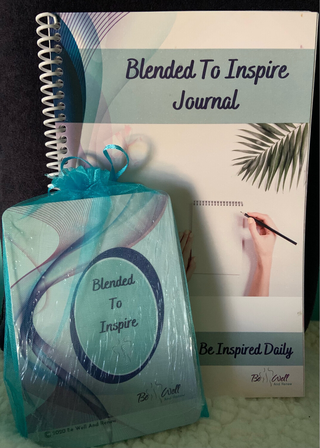 Blended To Inspire Card Deck & Journal