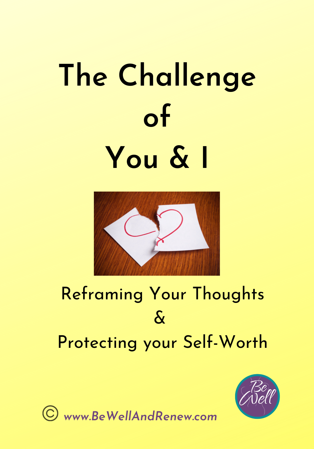 The Challenge Of You & I Card Deck
