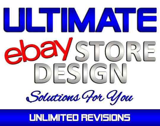 Custom Designed eBay Store with Matching eBay Listing Template
