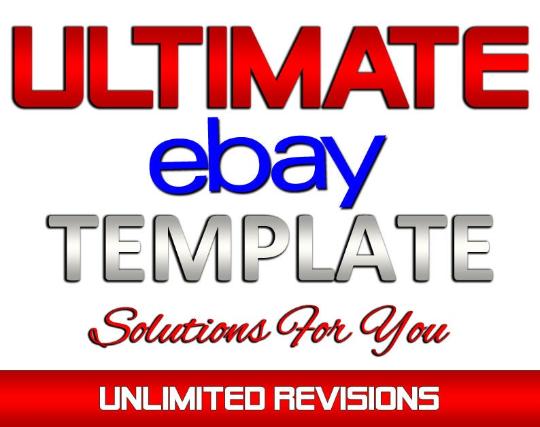Custom Designed eBay Auction Listing Template