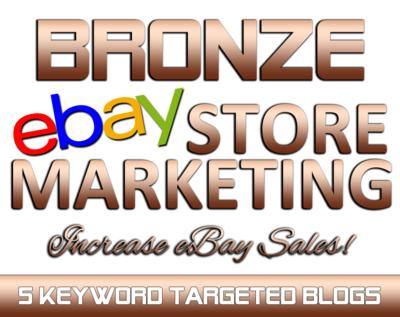 BRONZE eBay Marketing