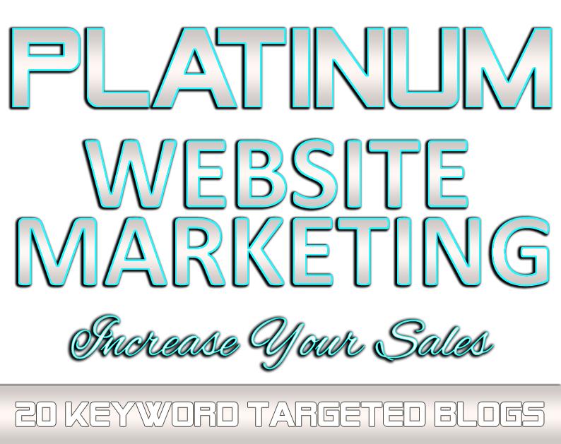 PLATINUM Website Marketing