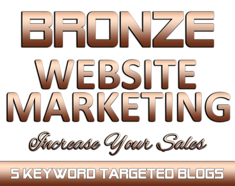 BRONZE Website Marketing