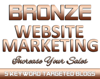 BRONZE Website Marketing