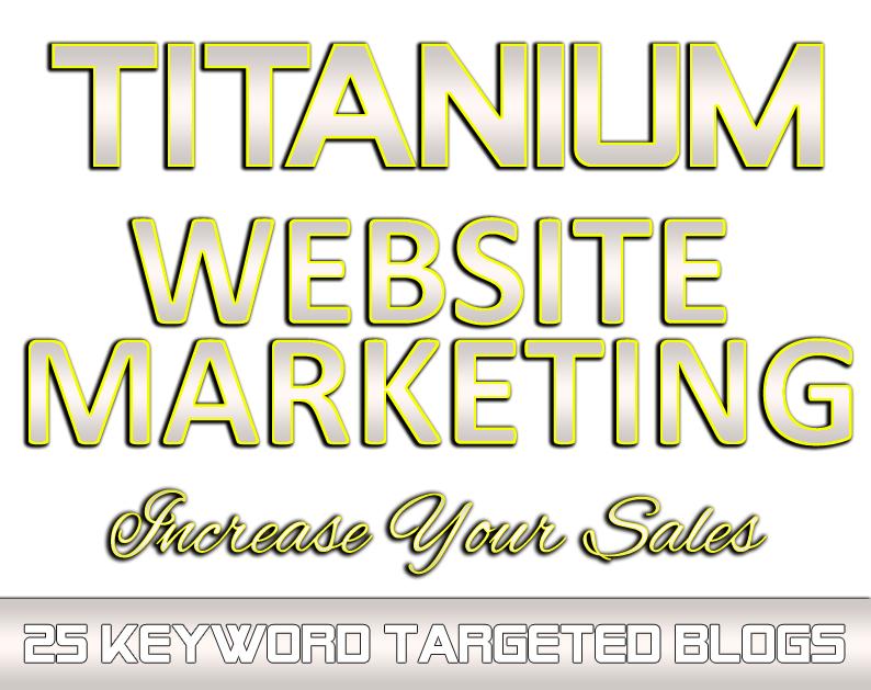 TITANIUM Website Marketing
