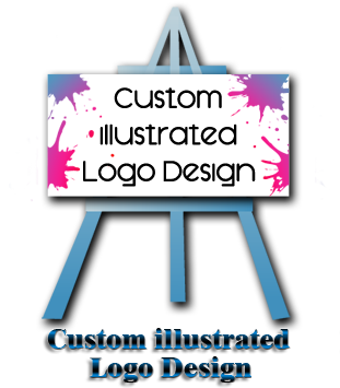 Custom Illustrated Logo Design LEVEL I