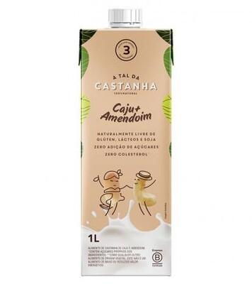 Bebida de Castanha de Caju - Caju + Amendoim (1L) - A Tal da Castanha