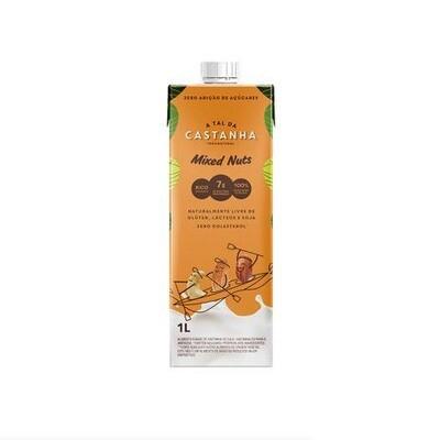Bebida de Castanha de Caju - Mixed Nuts (1L) - A Tal da Castanha