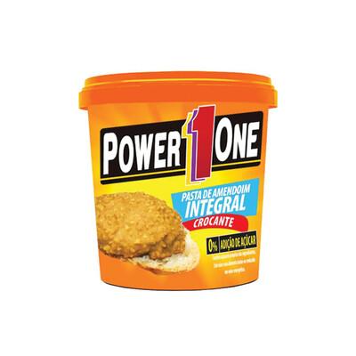Pasta de Amendoim Crocante (1kg) - Power One