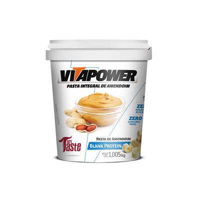 Pasta de Amendoim Blank Protein (1,005KG) - Vitapower - Mrs Taste