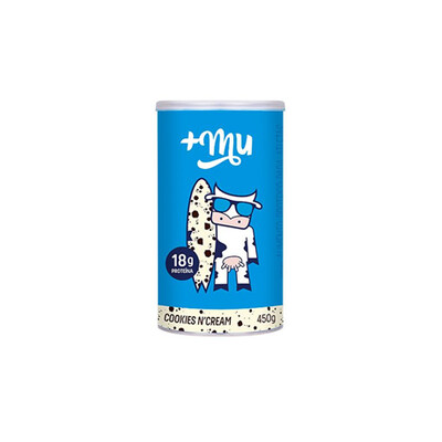 Proteína 18g - Cookies and Cream Tradicional (450g) - +MU
