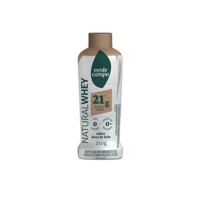 Iogurte Desnatado Natural Doce de Leite (250g) - Verde Campo