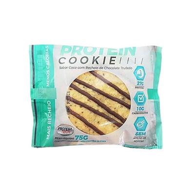 Protein Cookie Coco com Chocolate Trufado (55g) - Protein Tech