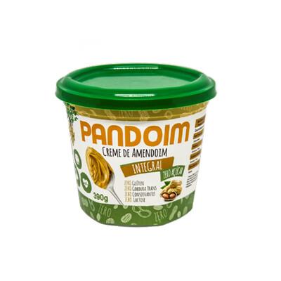 Pasta de Amendoim Integral Zero Açúcar (390g) - Pandoim