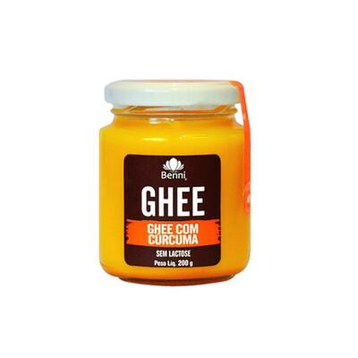 Manteiga Ghee com Cúrcuma (200g) - Benni