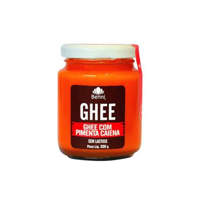 Manteiga Ghee com Pimenta Caiena (200g) - Benni
