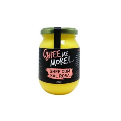 Manteiga Ghee Me More com Sal Rosa (200g)