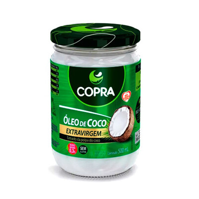 Óleo de Coco Extra Virgem (500ml) - Copra