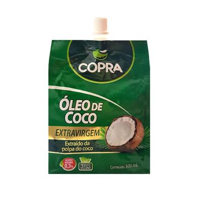 Óleo de Coco Extra Virgem Sachê (500ml) - Copra