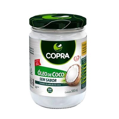 Óleo de Coco Sem Sabor (500ml) - Copra
