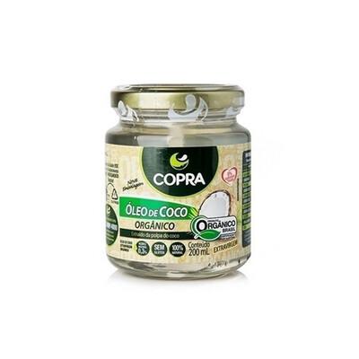Óleo de Coco Extra Virgem Orgânico (200ml) - Copra