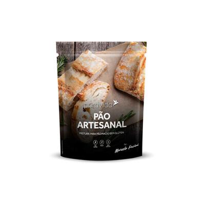Pão Artesanal   Mistura para pão sem glúten  (350g) - Puravida